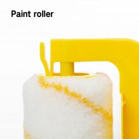 Home-Life Kuas Cat Tembok Roller Paint Clean-Cut Edger Brush Set - HOM5 - Yellow - 2