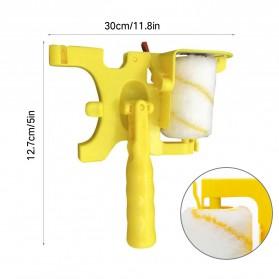Home-Life Kuas Cat Tembok Roller Paint Clean-Cut Edger Brush Set - HOM5 - Yellow - 9