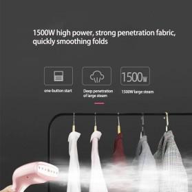 KONKA Setrika Uap Handheld Garment Steamer 1500W 250ml - KZ-G418B-WE - Pink - 3