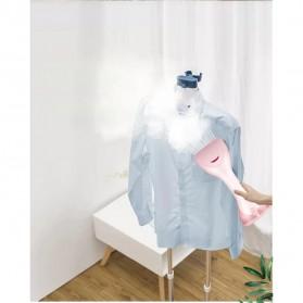 KONKA Setrika Uap Handheld Garment Steamer 1500W 250ml - KZ-G418B-WE - Pink - 7