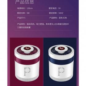 Konesky Lampu Pembasmi Nyamuk UV USB Light Mosquito Lamp Trap - P520 - Red - 7