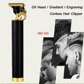 Amaya Alat Cukur Elektrik Hair Clipper Trimmer USB Rechargeable - WS-T9 - Black - 4