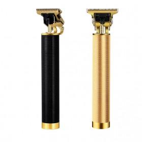 Amaya Alat Cukur Elektrik Hair Clipper Trimmer USB Rechargeable - WS-T9 - Black - 5