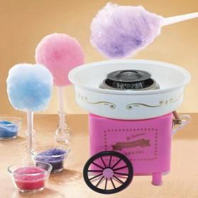 Qiufeng Mesin Pembuat Gula-Gula Kapas Cotton Candy 500W - HK-303 - Pink