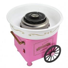 Qiufeng Mesin Pembuat Gula-Gula Kapas Cotton Candy 500W - JK-M01 - Pink - 2