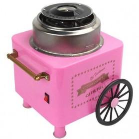 Qiufeng Mesin Pembuat Gula-Gula Kapas Cotton Candy 500W - JK-M01 - Pink - 5