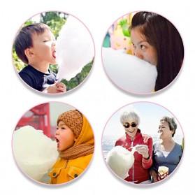 Qiufeng Mesin Pembuat Gula-Gula Kapas Cotton Candy 500W - JK-M01 - Pink - 6