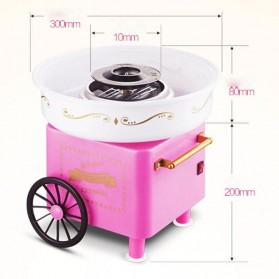 Qiufeng Mesin Pembuat Gula-Gula Kapas Cotton Candy 500W - JK-M01 - Pink - 7