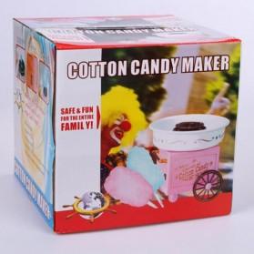 Qiufeng Mesin Pembuat Gula-Gula Kapas Cotton Candy 500W - JK-M01 - Pink - 8