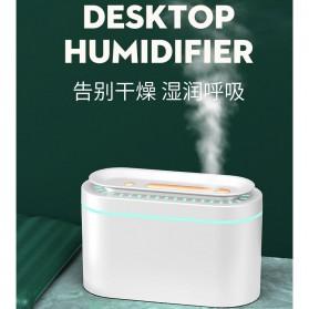 LISM Air Humidifier Diffuser Pelembab Udara Lampu Tidur 1000ml - H605 - White - 8