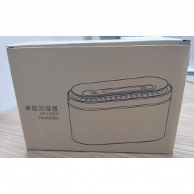 LISM Air Humidifier Diffuser Pelembab Udara Lampu Tidur 1000ml - H605 - White - 10