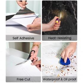 DICOR Sticker Wallpaper Meja Dinding Dapur Anti Minyak Waterproof 2 Meter - WGFYT4B - Black - 11