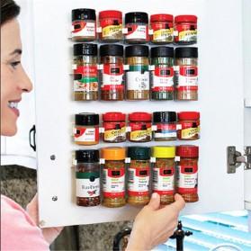 BearPaw Rak Gantung Botol Bumbu Dapur Spice Bottle Storage Rack 4 PCS - G55 - White