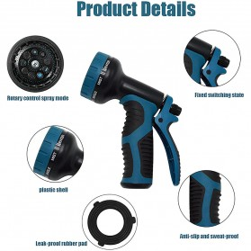 SPTA Semprotan Air Steam Cuci Mobil Nozzles Spray Water Gun - W205 - Blue - 3