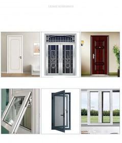 MIFENGTIAO Lis Penghalang Debu Serangga Bawah Pintu Door Bottom Soundproof Sealing Strips Tipe D 2x2.5m - ESPV5 - Black - 3