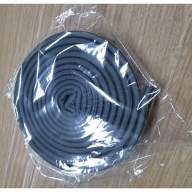MIFENGTIAO Lis Penghalang Debu Serangga Bawah Pintu Door Bottom Soundproof Sealing Strips Tipe D 2x2.5m - ESPV5 - Black - 9