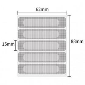 Didida Net Penghalang Serangga Nyamuk Anti-insect Tape Patch 5 PCS - FF54 - Silver - 9