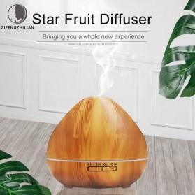 ZIFENGZHILIAN Air Humidifier Aromatherapy Oil Diffuser Wood Design 500ml - ZN081 - Wooden