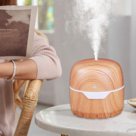 FENGZI Air Humidifier Aromatherapy Oil Diffuser Wood Design 300ml - FZ001 - Wooden