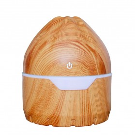 FENGZI Air Humidifier Aromatherapy Oil Diffuser Light Wood Design 300ml - FZ002 - Wooden