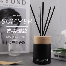 Homeasy Parfum Ruangan Aroma Diffuser Reed Rattan Sticks Bluebell 125ml - DF-203 - Black