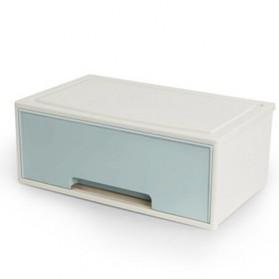 BNBS Kotak Barang Organizer Stackable Storage Box 1 Door - BN-2046 - Blue