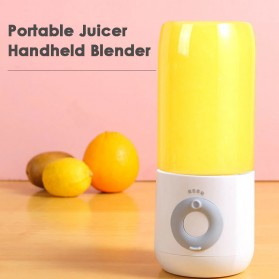 HAOYUNMA Blender Mixer Buah Portable Mini Juicer Cup USB Rechargeable 500ML - XHJ-118 - Green - 7