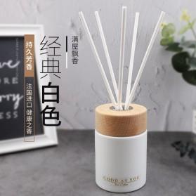 Homeasy Parfum Ruangan Aroma Diffuser Reed Rattan Sticks Jasmine 125ml - DF-203 - White