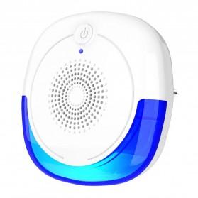KKMOON Pengusir Nyamuk Ultrasonic Mosquito Repellent - LB03 - White