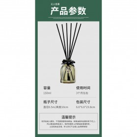 ZUOHE Parfum Ruangan Aroma Diffuser Reed Rattan Sticks Encounter 150ml - Z204 - 10