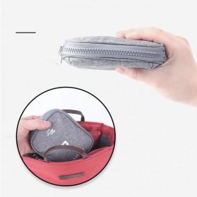 HAISUNNY Tas Travel Obat P3K Medical First Aid Kit - D1018 - Gray - 5