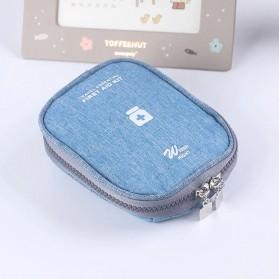 HAISUNNY Tas Travel Obat P3K Medical First Aid Kit - D1018 - Gray - 6