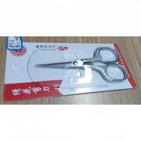 WyFeay Gunting Stainless Steel Vintage Scissors Design - 5035 - Silver - 8