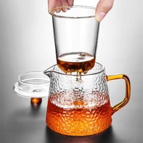 BORREY Teko Pitcher Teh Chinese Teapot Maker Borosilicate Glass 450ml - BR-035 - Transparent - 3