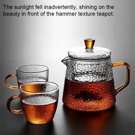BORREY Teko Pitcher Teh Chinese Teapot Maker Borosilicate Glass 450ml - BR-035 - Transparent - 4