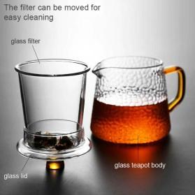 BORREY Teko Pitcher Teh Chinese Teapot Maker Borosilicate Glass 450ml - BR-035 - Transparent - 5