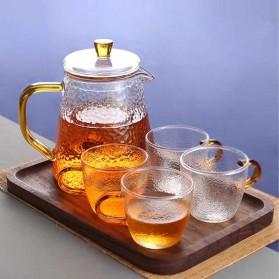 BORREY Teko Pitcher Teh Chinese Teapot Maker Borosilicate Glass 450ml - BR-035 - Transparent - 6