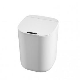 KIMD Tempat Sampah Smart Trash Can Motion Sensor Dustbin 16L - L1 - White