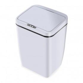 Wannafree Tempat Sampah Smart Trash Can Motion Sensor Dustbin - F150 - White