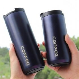 ITNEX Botol Minum Mug Tumbler Thermos Stainless Steel 450ml - TYYHC304 - Black