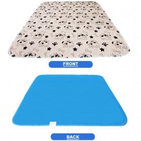 Hachikitty Karpet Matras Tempat Makan Hewan Peliharaan Kucing Anjing Pet Food Mat - CFB34 - Coffee
