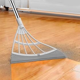 Aurota Sapu Karet Magic Rubber Broom Floor Sweeper - LF212 - White