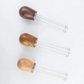 FENINCAFE Tamper Jarum Kopi Espresso Needle Distributor Coffee Tamper Stainless Steel - CY-B222 - Brown - 5