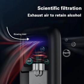 SUSISUN Digital Alcohol Tester Breathalyzer Portable Uji Kadar Alcohol Tubuh - AD6 - Black - 4