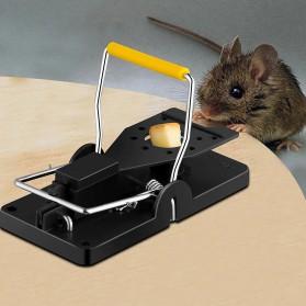 Mousexiang Jebakan Perangkap Tikus Mouse Bait Snap Spring Trap - JJ10890 - Black