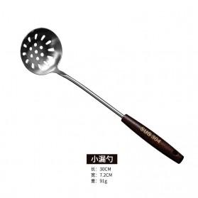 HAIMAITONG Alat Masak Dapur Stainless Steel Model Small Colander - HTG001 - Silver