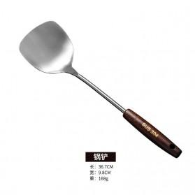 HAIMAITONG Alat Masak Dapur Stainless Steel Model Spatula - HTG001 - Silver