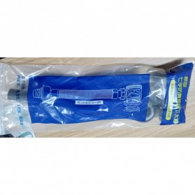 LOWESW Saringan Lubang Bak Cuci Piring Sink Strainer Filter Anti Bau with Pipe  - DS380 - Black - 8