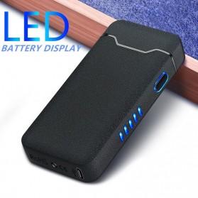 MINITREE Korek Api Elektrik Pulse Plasma Arc Lighter - JL818 - Matte Black