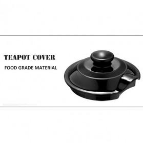 LILAC Teko Pitcher Teh Chinese Teapot 2300ml dengan Saringan Infuser - WJS816 - Black - 6